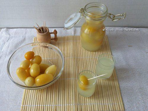 Liquore digestivo di Kumquat – Mandarino cinese