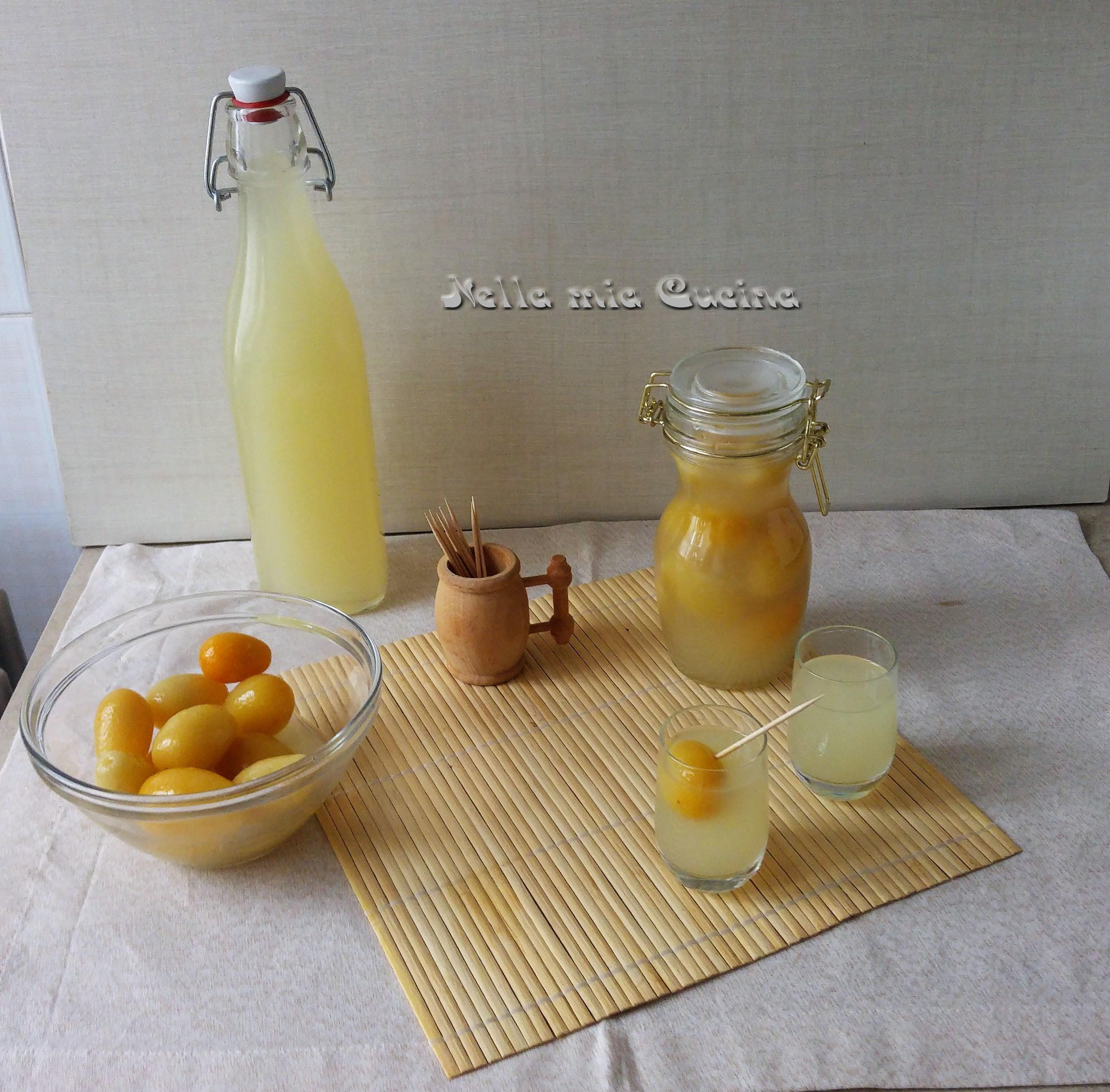 Liquore digestivo di Kumquat - Mandarino cinese