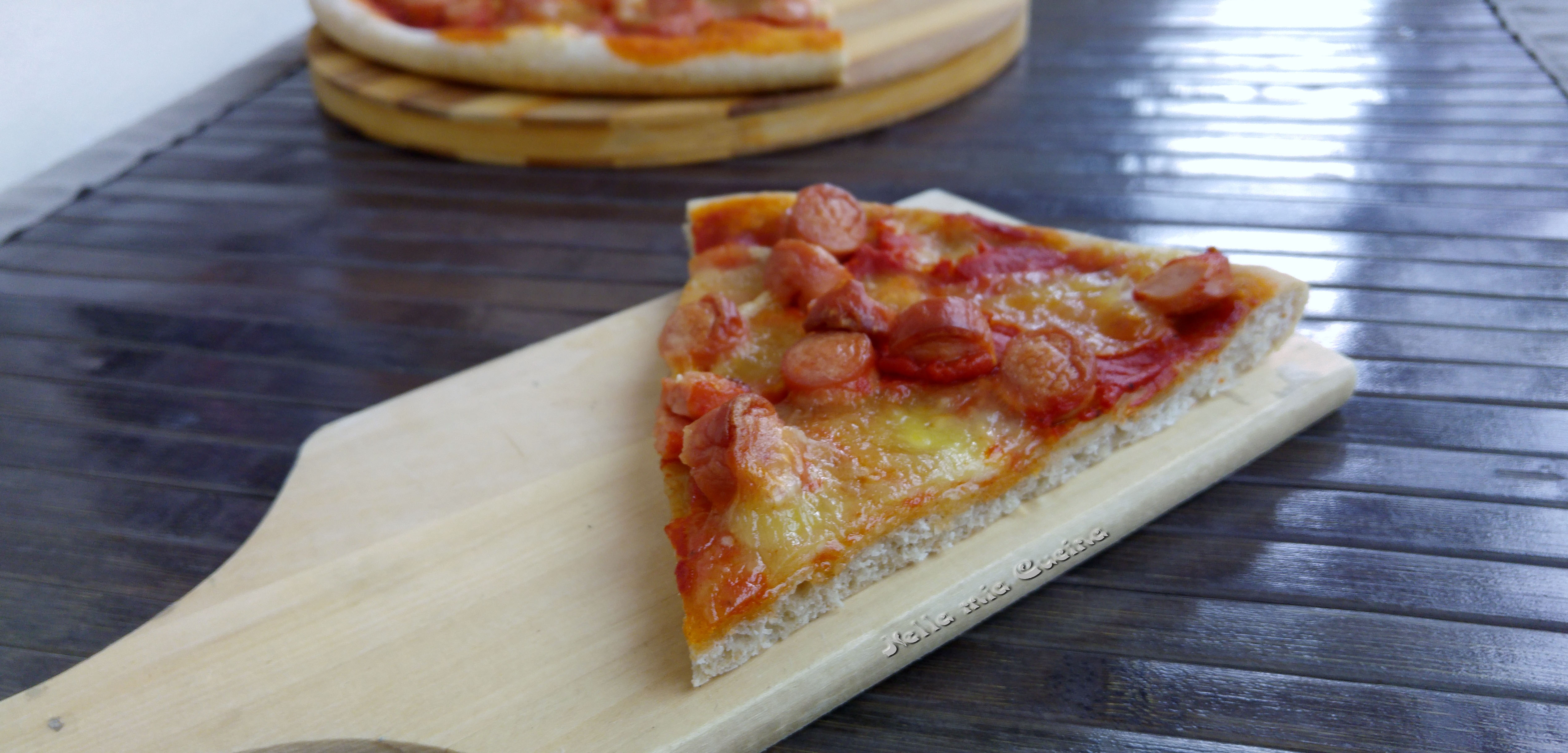 Pizza a lievitazione naturale con farina tipo 2