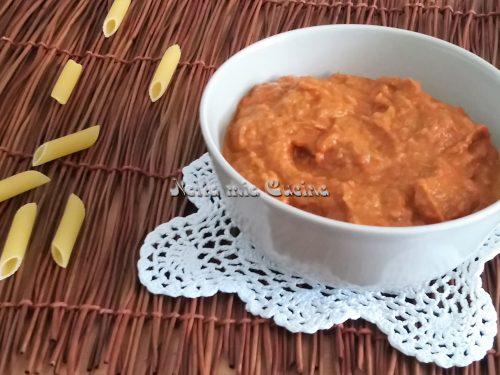 Crema di peperoni senza panna
