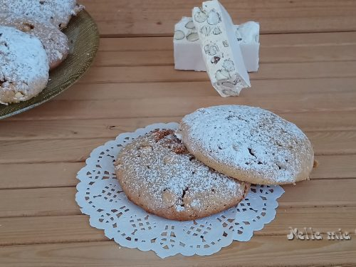 Biscotti al Torrone Ricetta di recupero .