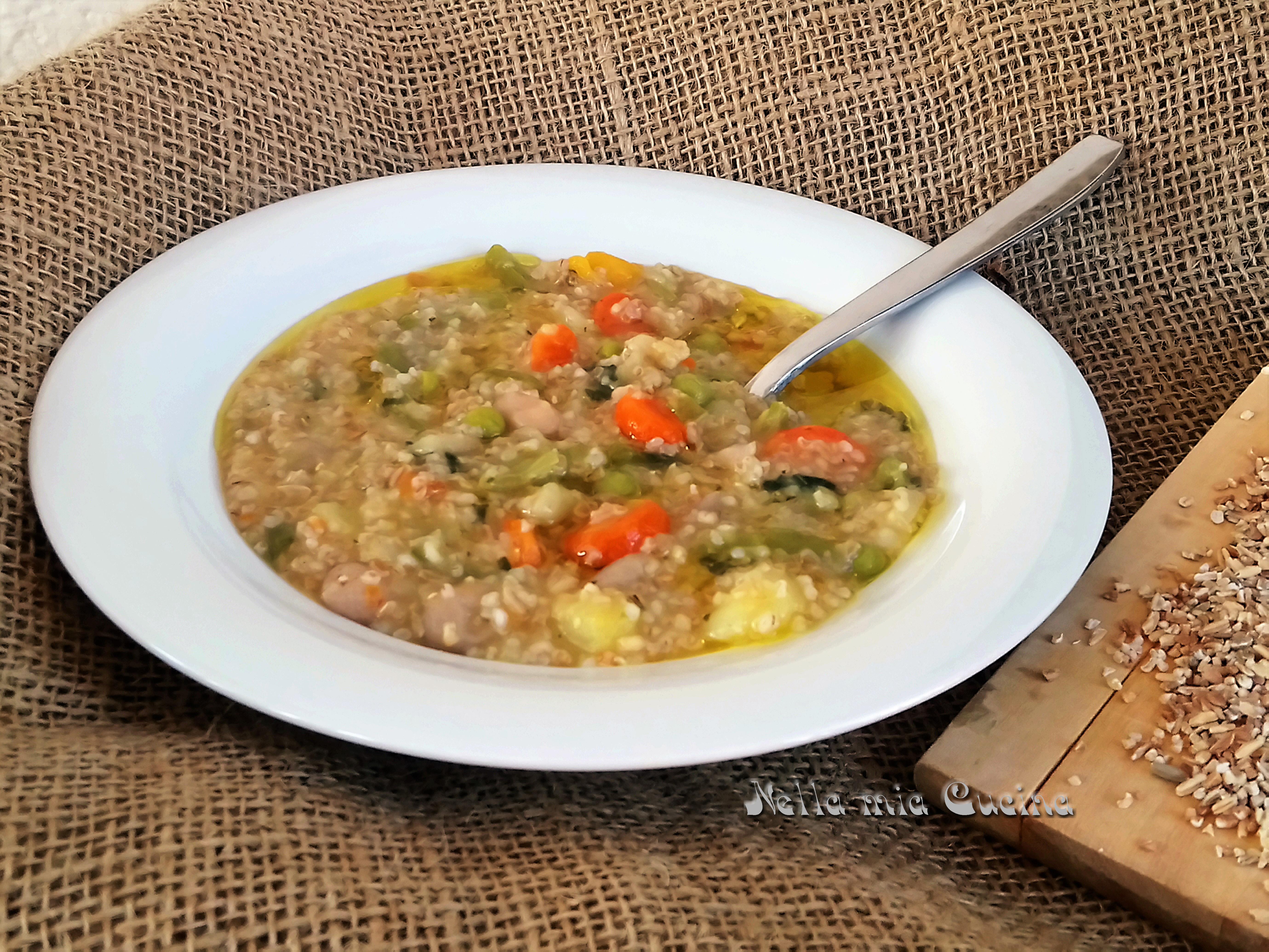 Zuppa del Saccarolo _ ricetta vegetariana