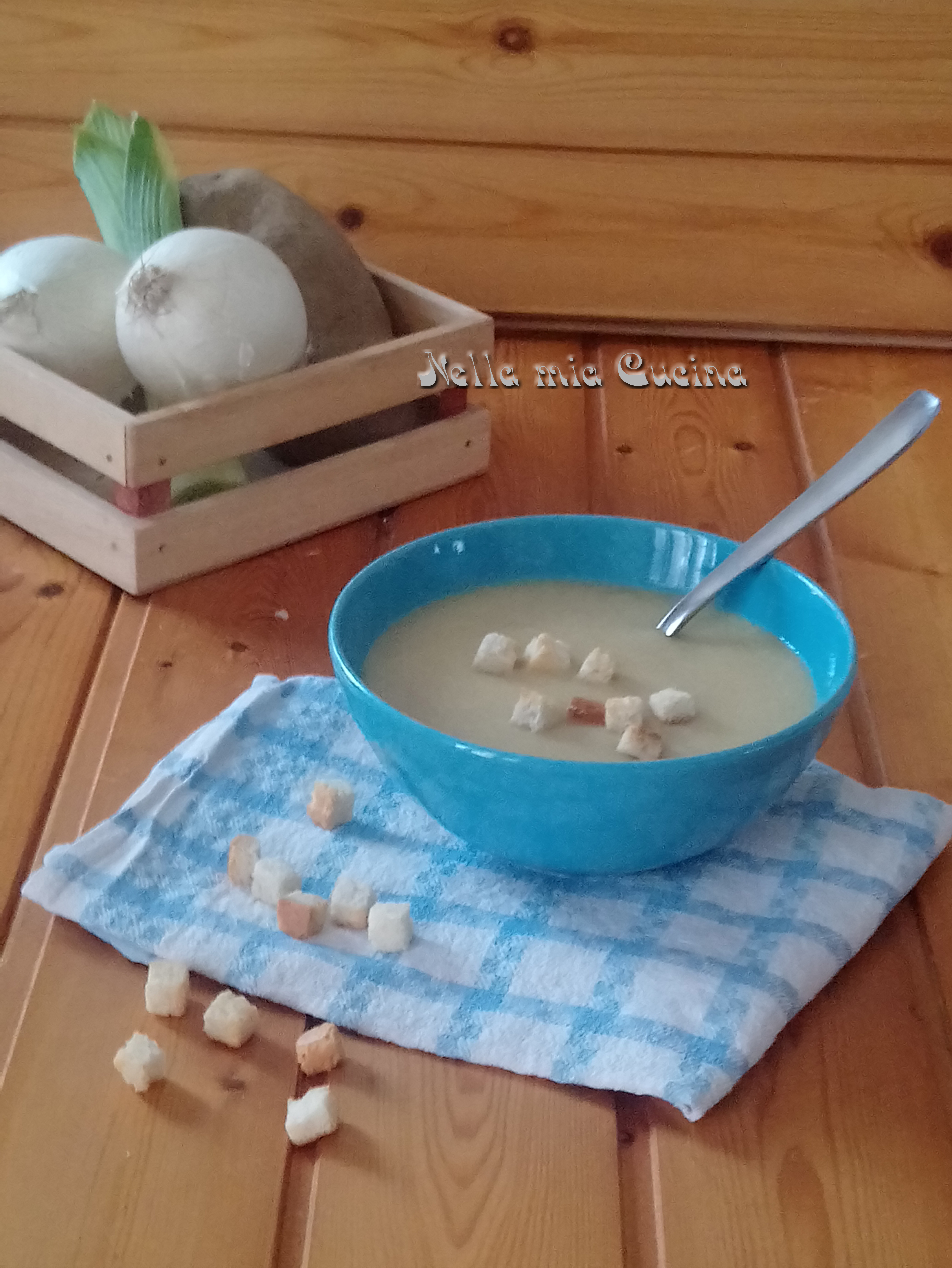 Crema di Porro, Cipolla e Patata