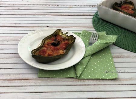 Barchette di Peperoni Verdi Ripieni