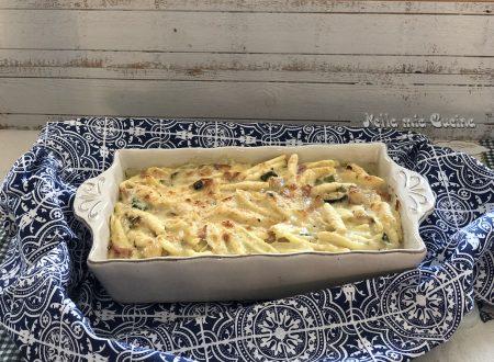 Pasta al forno con Zucchine e Guanciale