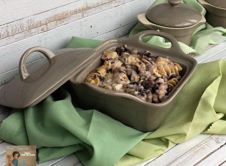 Pasta al forno con Radicchio Gorgonzola e Pastin