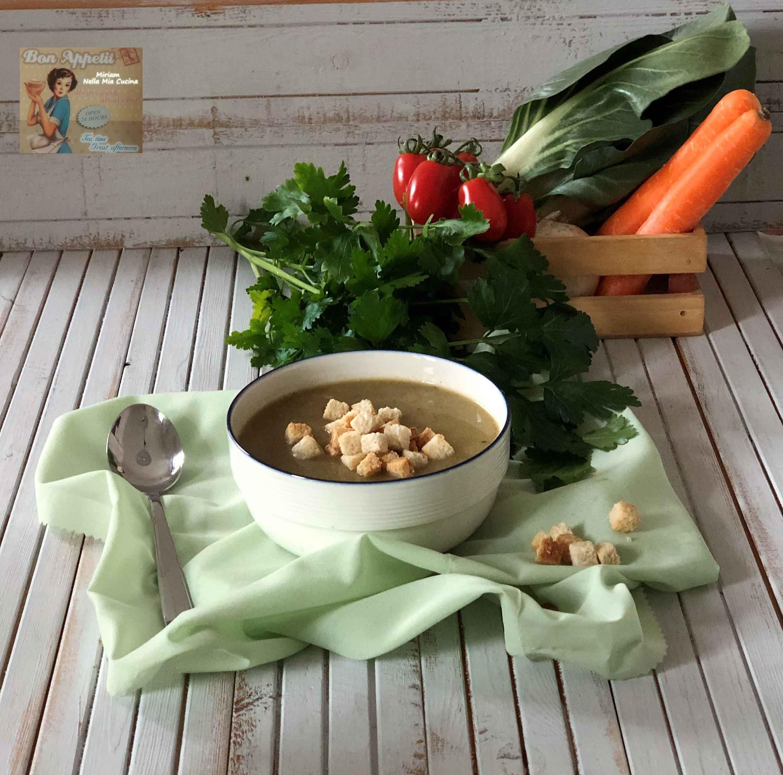 Passato di verdure fresche