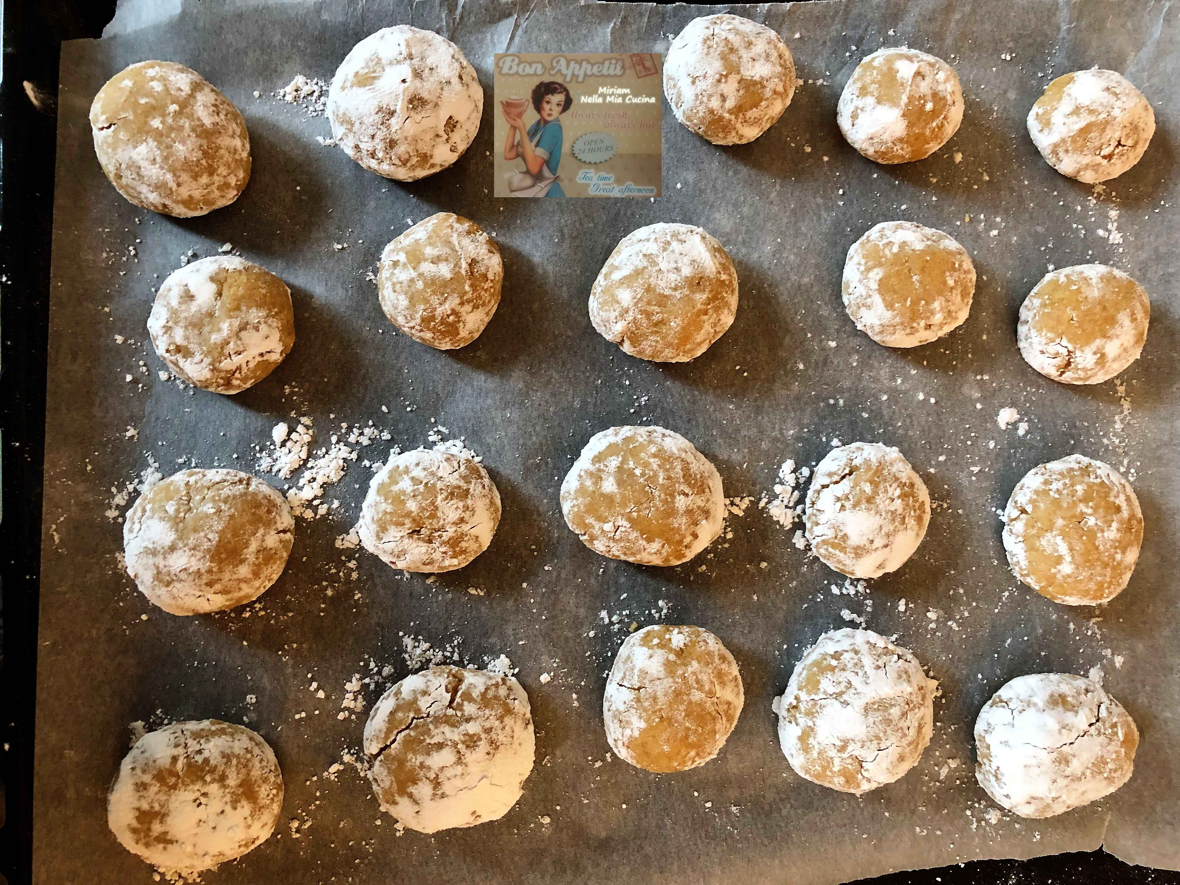 Biscotti alle Clementine con farina di Farro
