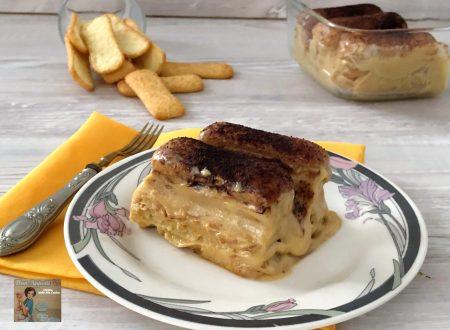 Semifreddo con pavesini e crema di  pistacchio