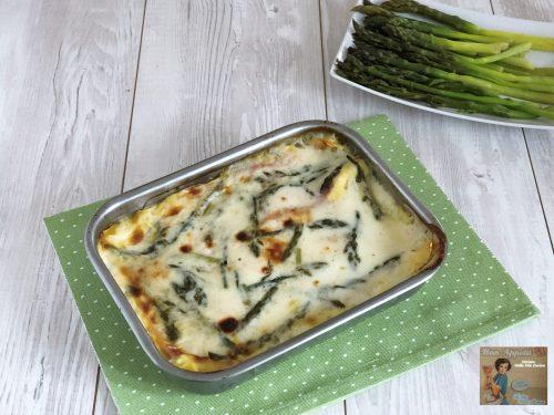 Lasagne con Prosciutto e Asparagi
