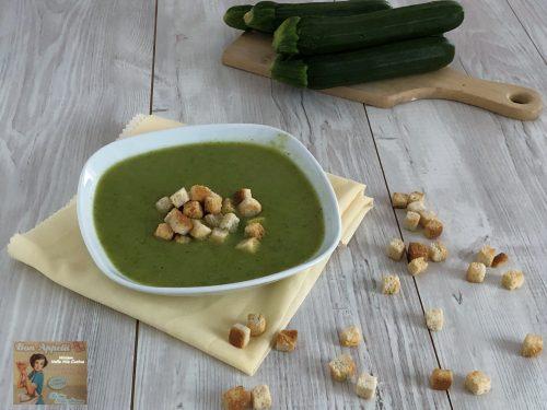 Vellutata di zucchine – ricetta primaverile