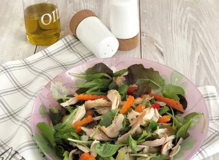 Insalata di pollo -ricetta di riciclo