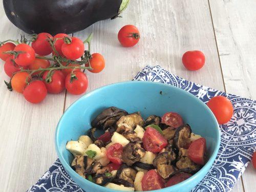 Melanzane grigliate in insalata