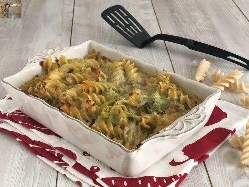 Pasticciata di Broccoli e Salsiccia al forno