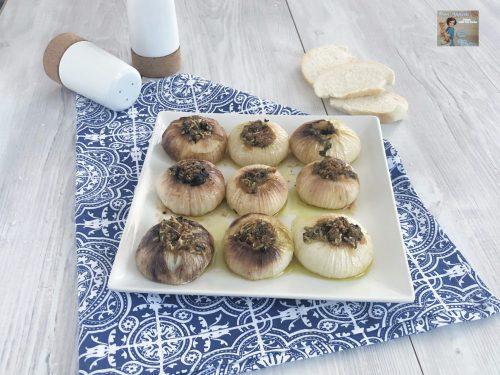 Cipolle ripiene al forno