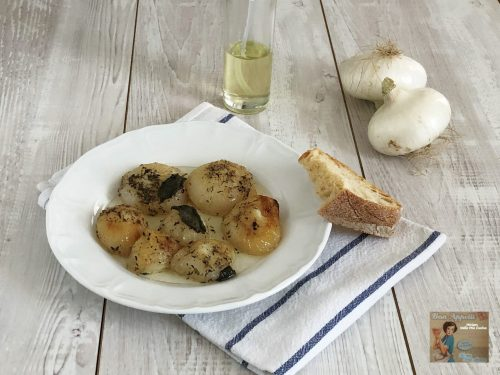 Cipolle in forno – ricetta semplice