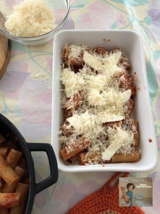 Pasta alla sorrentina gratinata in forno