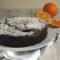 Torta al cacao con marmellata di arance