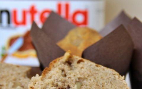 Muffin alla banana e Nutella