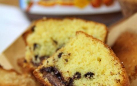 Muffin con cuore alla Nutella