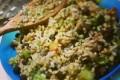 i 5 cereali con ceci neri e verdure