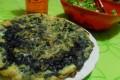 Torta-frittata di cavolo cappuccio viola