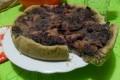 Torta salata di lenticchie, cavolo cappuccio e mele