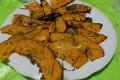 Chips di zucca speziata