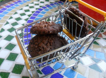 Biscotti morbidi al cacao e cioccolato (senza uova, burro e latte)