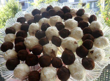 Tartufini cocco e cacao