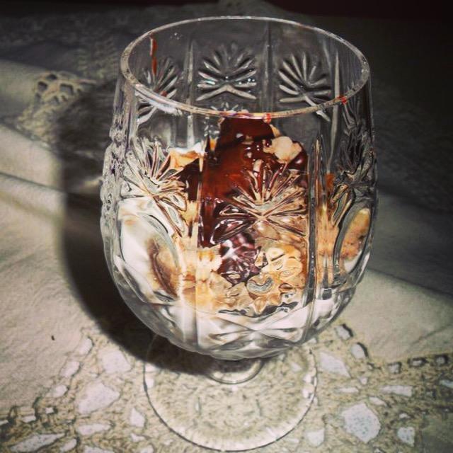 La coppa delle streghe: yogurt con castagne e zucca