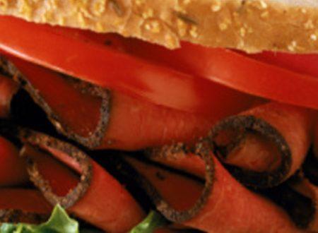 Sandwich Pastrami light