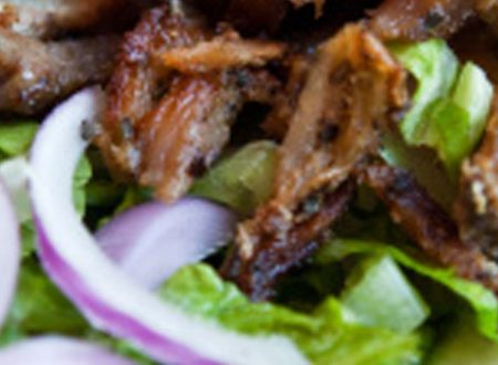 Kebab light con tzatziki