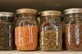 vasi di lenticchie