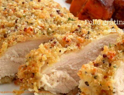 Gratin di pollo alla quinoa