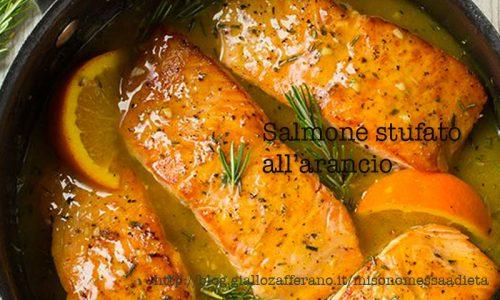 Salmone all'arancio