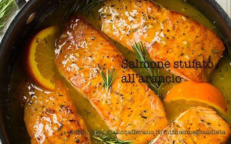 salmone stufato
