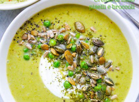 Crema di miso, piselli e broccoli