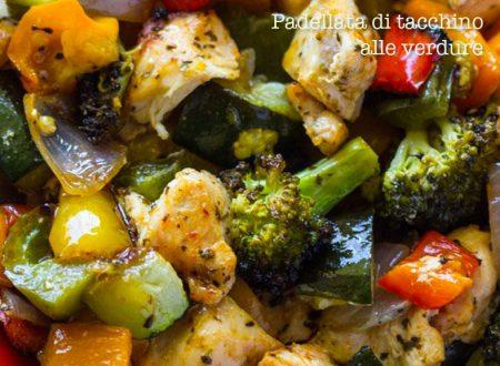 Petto di tacchino con verdure nel wok