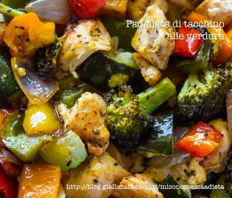 tacchino con verdure al wok