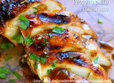 Petto di pollo marinato al forno