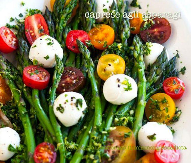 caprese agli asparagi