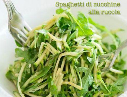 [:it]Spaghetti di zucchine alla rucola[:]