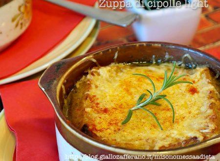 Zuppa di cipolle light