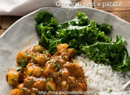 Curry di ceci e patate light