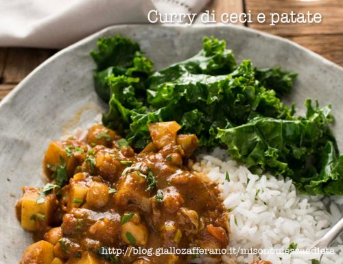 Curry di ceci e patate light