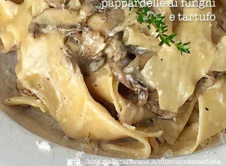 Pappardelle ai porcini e tartufo