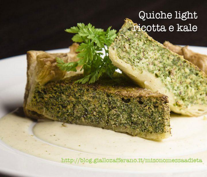 quiche con kale