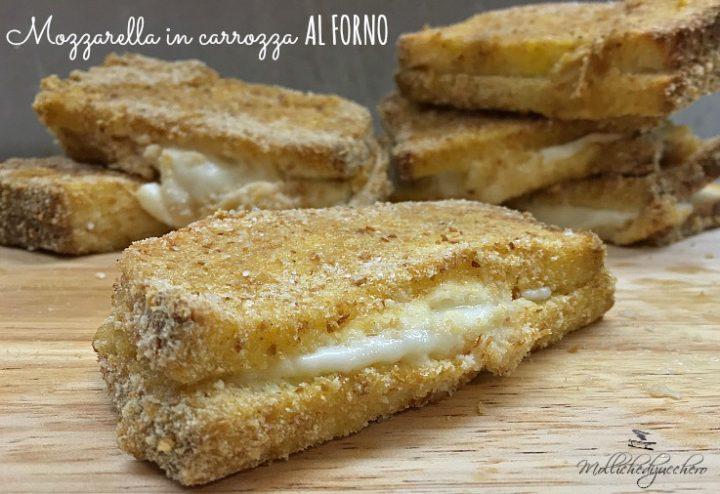 Mozzarella in carrozza al forno mollichedizucchero for Ricette mozzarella in carrozza al forno