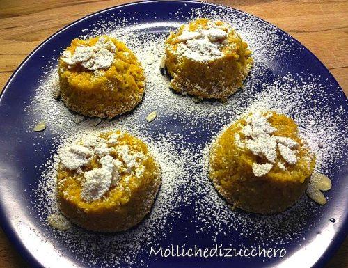 tortini arancia e mandorle ricetta senza glutine